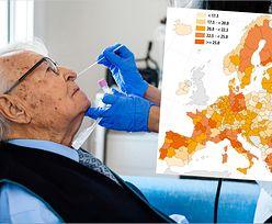 Demografia sprzyja Polsce w walce z COVID-19. Eurostat pokazuje mapę
