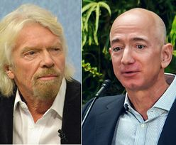 Kosmiczny wyścig miliarderów. Branson wyprzedza Bezosa na ostatniej prostej