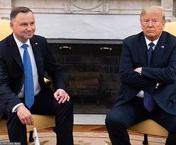 Donald Trump gratuluje Andrzejowi Dudzie reelekcji. Kurtuazja, a może biznesowa strategia?