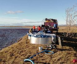 Katastrofa ekologiczna w Arktyce. 21 tys. ton oleju napędowego trafiło do wody