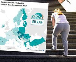 Daleko nam do Włochów czy Francuzów. Ponad połowa dorosłych Polaków ma nadwagę