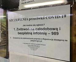Szczepienia przeciw COVID-19. Rząd mówi o błędzie systemu. Lekarz ma wątpliwości