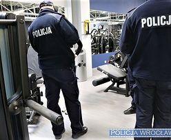 Koronawirus. Policja weszła do siłowni. Posypały się mandaty