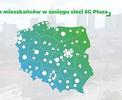 Sieć 5G oplata Polskę. Plus chwali się, że ma już w zasięgu 12 mln osób