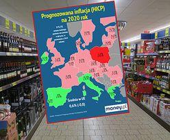 Polska wyjątkiem na mapie UE. Tylko u nas inflacja będzie wyższa niż w 2019 roku