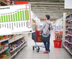 Polska z najwyższą inflacją w UE. Wracamy na pozycję lidera drożyzny
