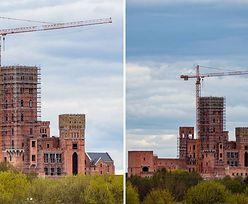 """Zamek w Stobnicy. """"Prace na ukończeniu, widoki - niezapomniane"""""""