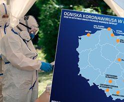 Koronawirus w Polsce. Ogniska w firmach, sklepach, gospodarstwie rolnym i nadmorskim Mielnie