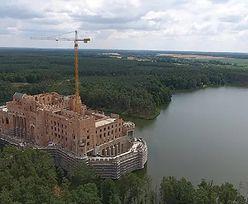 Zamek w Stobnicy. Inwestycja w Puszczy Noteckiej mogła kosztować setki mln zł