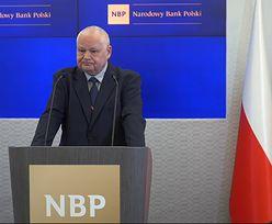 Prezes NBP: inflacja wyższa o 2 pkt. proc. przez droższe paliwa i żywność. Interwencja RPP tego nie zmieni