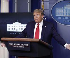 Koronawirus w USA. Trump wstrzymuje wpłacanie składek na WHO