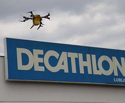 Znana sieć dostarczy przesyłki dronami
