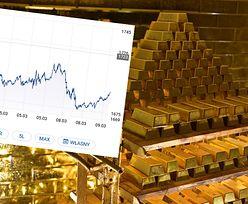 Ostry zjazd na złocie. Najtańsze od 11 miesięcy
