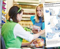Praca. Polska ma jeden z najwyższych wskaźników zatrudnienia obywateli spoza UE