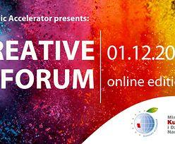 Creative Forum już 1 grudnia w formie online