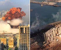 Wybuch w Bejrucie. Powstał ogromny krater. Wstrząsające zdjęcia