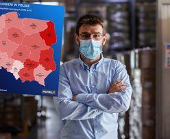 """""""Nożyce"""" na rynku pracy. Coraz więcej Polaków pracuje na własny rachunek"""
