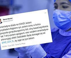 """Wiceminister sprawiedliwości: """"Amantadyna działa na COVID"""". Co na to Ministerstwo Zdrowia?"""