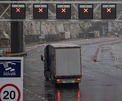 Kierowcy utknęli w Wielkiej Brytanii. Premier interweniuje