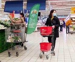 Maseczki w sklepach to fikcja. Smutny raport money.pl i Wirtualnej Polski