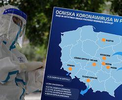 Koronawirus w Polsce. Kwarantanna w firmie kurierskiej, chorzy na weselu i komunii