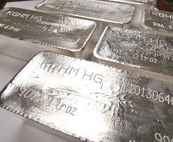 Srebro przez ponad rok zyskało na wartości 135 procent. Złoto może się schować