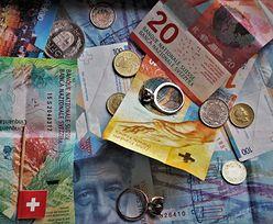 Kurs franka szwajcarskiego mocno spadł. Jest najniżej w tym roku