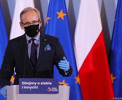 Konferencja ministra zdrowia Adama Niedzielskiego. Jakich obostrzeń można się spodziewać?