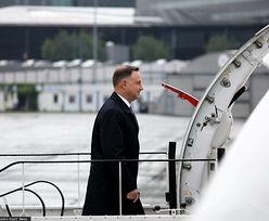 Niebezpieczny incydent podczas lotu prezydenta. Ostry apel związkowców