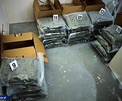 Akcja CBŚP. Policjanci przejęli 80 kg marihuany, wartej 3 mln zł