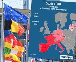 PKB strefy euro. Bezprecedensowe spadki w drugim kwartale