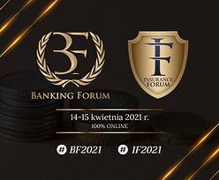21. Banking Forum oraz 17. Insurance Forum odbędą się 14-15 kwietnia 2021 r. 100% online, zapraszamy do rejestracji.