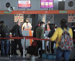 Koronawirus. Więcej ludzi na lotniskach. Wszyscy są kierowani na kwarantannę