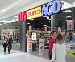 Outlet RTV Euro AGD kusi cenami. Część asortymentu kupimy za grosze