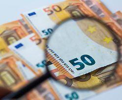 """Kursy walut. Euro tkwi nad """"wsparciem"""" powyżej 4,50 zł"""