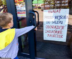 Został wyproszony, bo dzieci nie miały maseczek. Takie są przepisy