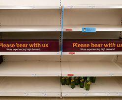 Wielka Brytania. Pustki na półkach sklepowych. Prawie połowa Brytyjczyków obwinia za to UE