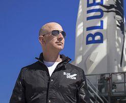 Jeff Bezos poleci w lipcu w kosmos swoją rakietą New Shepard