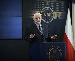 """Prezes NBP zaprzecza medialnym doniesieniom. """"Atmosfera jest coraz lepsza"""""""