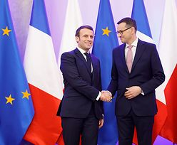 Morawiecki z wizytą u Macrona. Francuzi mają w tym interes. Chodzi im o polską elektrownię atomową