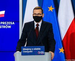"""Konferencja premiera. Morawiecki o """"sukcesie gospodarczym"""" w pandemii"""