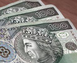 Kursy walut. Złoty korzysta ze wzrostu kursu eurodolara