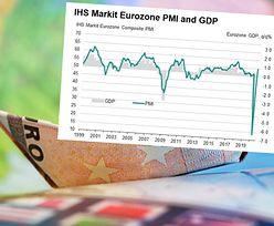 Indeksy PMI w strefie euro powyżej 50 pkt. Dobra informacja dla złotego
