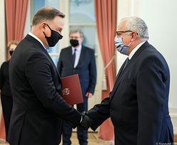Adam Lipiński wiceprezesem NBP. Prezydent wręczył akt powołania