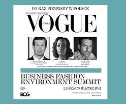 Business Fashion Environment Summit - Vogue Polska otwiera pierwszą dyskusję o zrównoważonym przemyśle odzieżowym w CEE