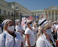 Strajk pielęgniarek i położnych. 40 szpitali bierze udział w akcji