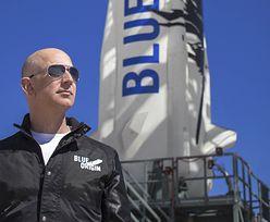 Już dziś Bezos wyruszy na podbój kosmosu. Gdzie i kiedy obejrzymy start rakiety?