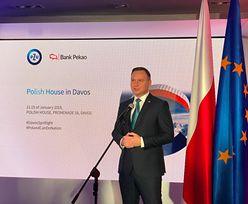 Otwarcie Domu Polskiego Banku Pekao i PZU. Historyczna chwila w Davos