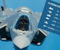 F-35 dla Polski. Wydajemy krocie na samoloty, choć pływamy na zabytkach