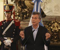 """""""Czarny poniedziałek"""" w Argentynie. Największe spadki od 18 lat"""